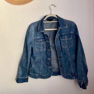 Jackets & Blazers - perfect cropped jean jacket!